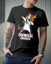 Chemical Engineer Unicorn Dabbing Classic T-Shirt lifestyle-mens-crewneck-front-6