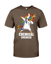 Chemical Engineer Unicorn Dabbing Classic T-Shirt thumbnail