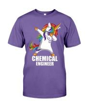 Chemical Engineer Unicorn Dabbing Premium Fit Mens Tee thumbnail