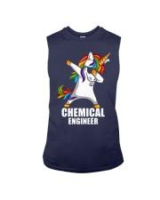 Chemical Engineer Unicorn Dabbing Sleeveless Tee thumbnail