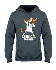 Chemical Engineer Unicorn Dabbing Hooded Sweatshirt thumbnail