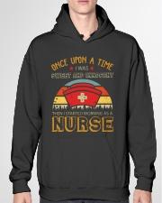 Sweet And Innocent Then Working As A Nurse Hooded Sweatshirt garment-hooded-sweatshirt-front-04