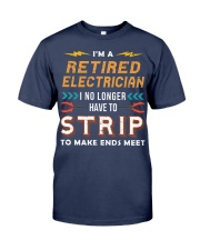 Retired Electrician I No Longer Have To Strip Premium Fit Mens Tee thumbnail