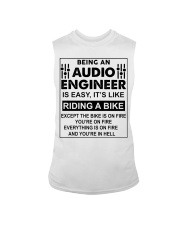 Being An Audio Engineer Is Easy Sleeveless Tee thumbnail