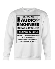 Being An Audio Engineer Is Easy Crewneck Sweatshirt thumbnail