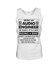 Being An Audio Engineer Is Easy Unisex Tank thumbnail