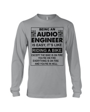 Being An Audio Engineer Is Easy Long Sleeve Tee thumbnail
