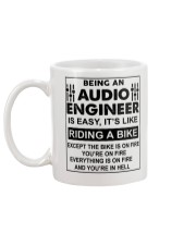 Being An Audio Engineer Is Easy Mug back