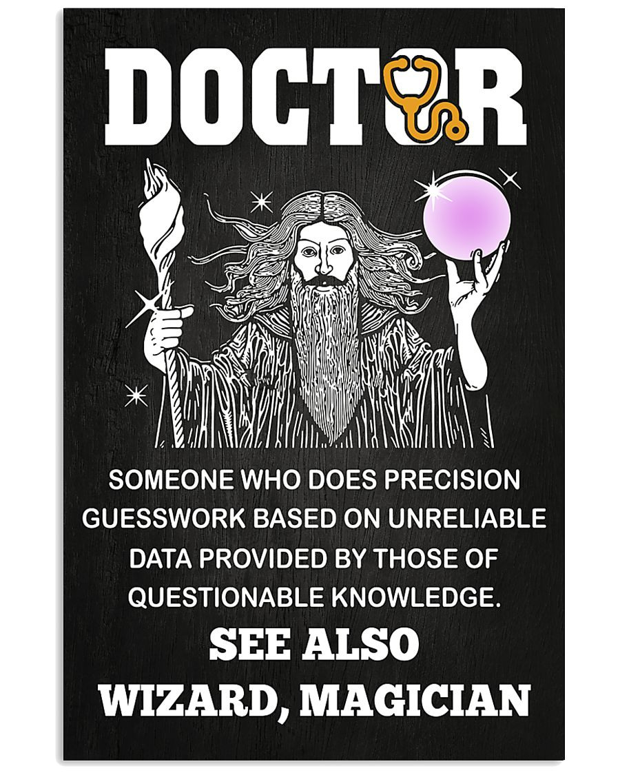 Doctor See Also Wizard Magician 11x17 Poster