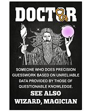 Doctor See Also Wizard Magician 11x17 Poster front