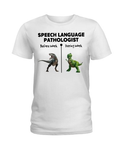 Speech Language Pathologist During Work