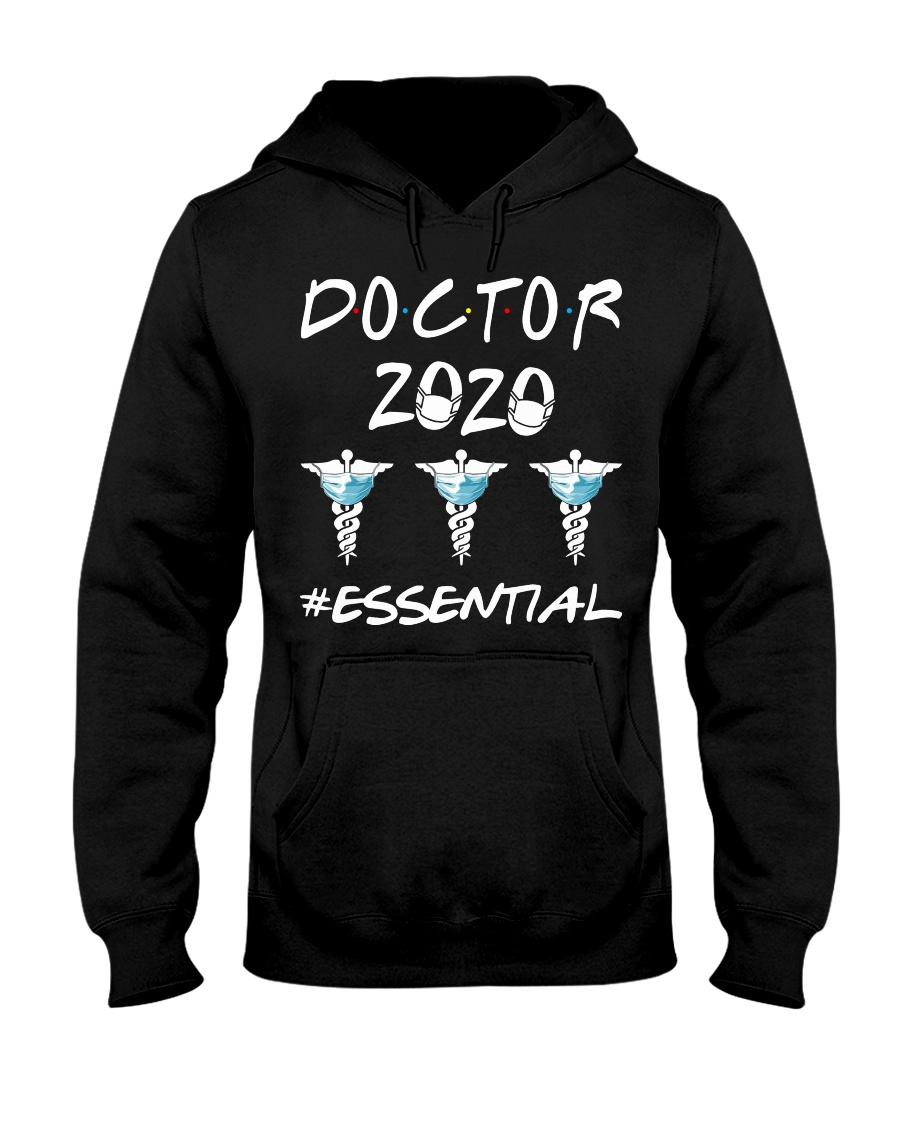 Doctor 2020 Esential Hooded Sweatshirt