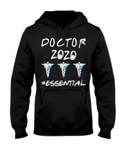 Doctor 2020 Esential Hooded Sweatshirt front