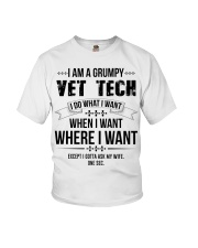 I Am A Grumpy Vet Tech Youth T-Shirt thumbnail