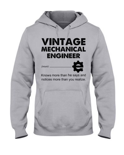 Vintage Mechanical Engineer Knows More Than He