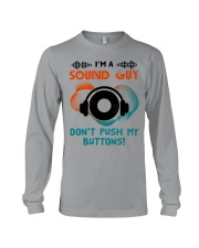 Sound Guy Dont Push My Button Long Sleeve Tee thumbnail