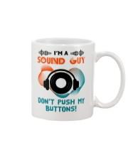 Sound Guy Dont Push My Button Mug thumbnail