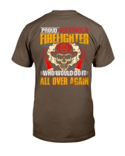 Proud Retired Firefighter Classic T-Shirt thumbnail