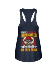 Proud Retired Firefighter Ladies Flowy Tank thumbnail