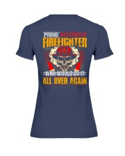 Proud Retired Firefighter Premium Fit Ladies Tee thumbnail