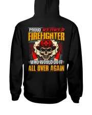 Proud Retired Firefighter Hooded Sweatshirt thumbnail