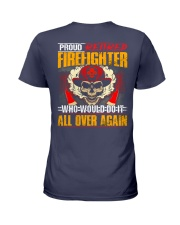 Proud Retired Firefighter Ladies T-Shirt thumbnail