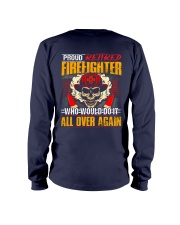 Proud Retired Firefighter Long Sleeve Tee thumbnail