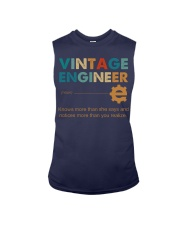 Vintage Engineer Knows More Than She Says Sleeveless Tee thumbnail