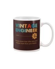 Vintage Engineer Knows More Than She Says Mug thumbnail