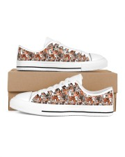 Dogs Family Women's Low Top White Shoes thumbnail
