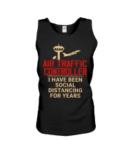 Air Traffic Controller Social Distancing Unisex Tank thumbnail