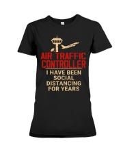 Air Traffic Controller Social Distancing Premium Fit Ladies Tee thumbnail