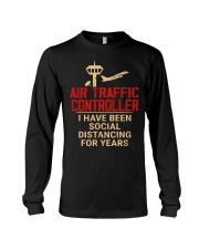 Air Traffic Controller Social Distancing Long Sleeve Tee thumbnail