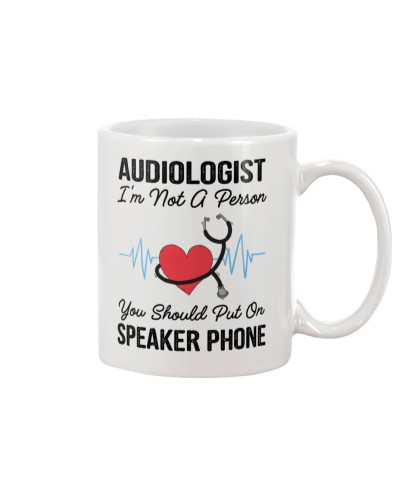 Audiologist Not A Person Speaker Phone