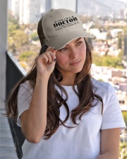 Doctor I Dont Want To Look At It Embroidered Hat garment-embroidery-hat-lifestyle-03