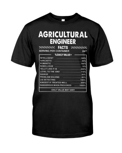 Agricultural Engineer Fact