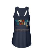 Vintage Nurse Knows More Than She Says Ladies Flowy Tank thumbnail