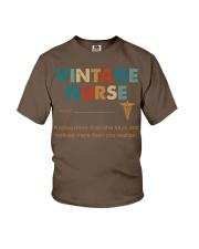 Vintage Nurse Knows More Than She Says Youth T-Shirt thumbnail