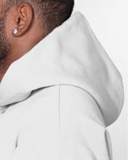 Audiologist Survival Plan Caffeine Alcohol Hooded Sweatshirt garment-hooded-sweatshirt-detail-left-hat-02