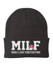 MILF Man I Love Firefighting Knit Beanie front