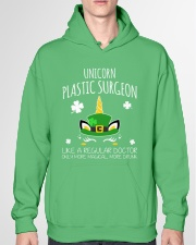 Unicorn Plastic Surgeon Like A Regular Doctor Hooded Sweatshirt garment-hooded-sweatshirt-front-04