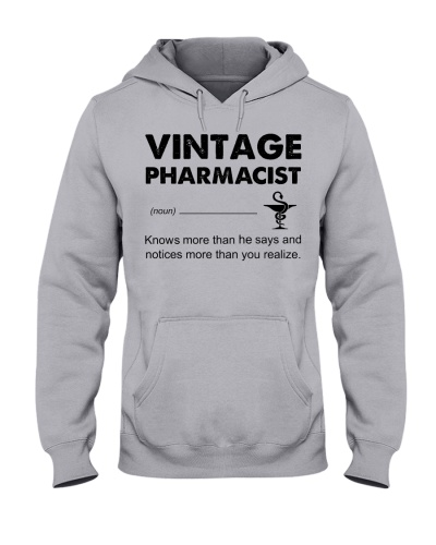 Vintage Pharmacist Knows More Than He Says