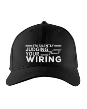 I'm Silently Judging Your Wiring Electrical Embroidered Hat front