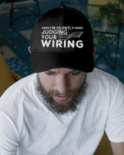 I'm Silently Judging Your Wiring Electrical Embroidered Hat garment-embroidery-hat-lifestyle-06