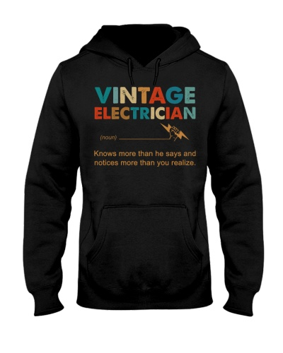 Vintage Electrician Knows More Than He Says