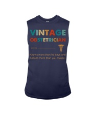 Vintage Obstetrician Knows More Than He Says Sleeveless Tee thumbnail