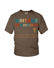 Vintage Obstetrician Knows More Than He Says Youth T-Shirt thumbnail