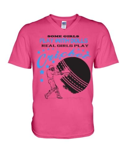 Real Girl Play Cricket