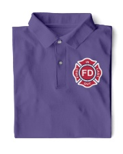 First In Last Out Firefighter Classic Polo thumbnail