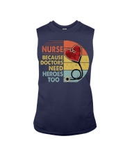 Nurse Because Doctors Need Heroes Too Sleeveless Tee thumbnail